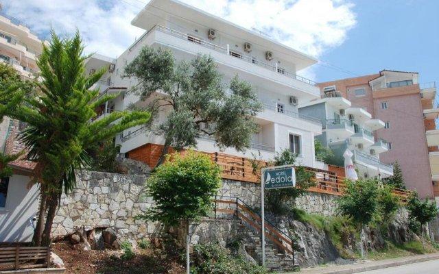 Отель Edola Албания, Саранда - отзывы, цены и фото номеров - забронировать отель Edola онлайн вид на фасад