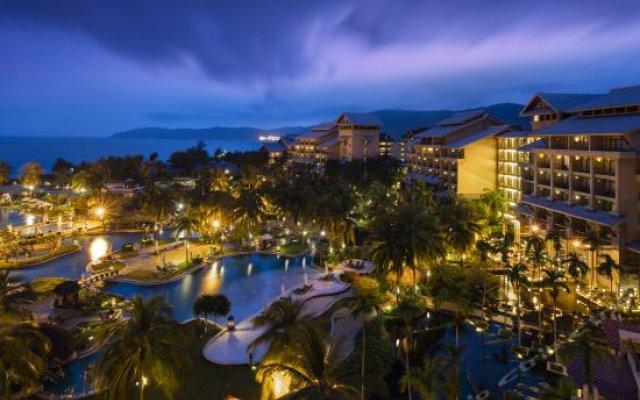 Отель Hilton Sanya Yalong Bay Resort & Spa вид на фасад