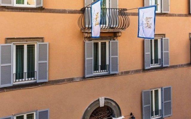 Hotel degli Artisti вид на фасад