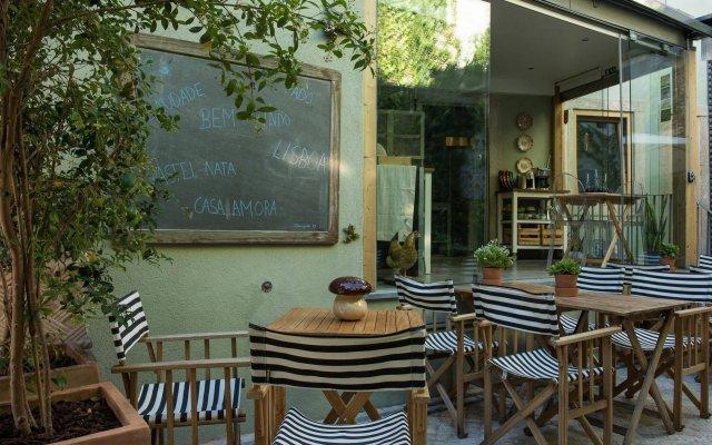 Отель Casa Amora Португалия, Лиссабон - отзывы, цены и фото номеров - забронировать отель Casa Amora онлайн вид на фасад