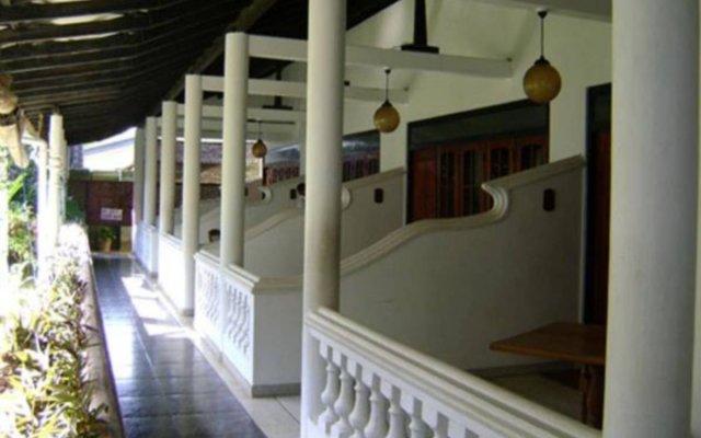 Отель Ganga Garden Бентота вид на фасад