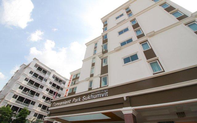 Отель Convenient Park Бангкок вид на фасад