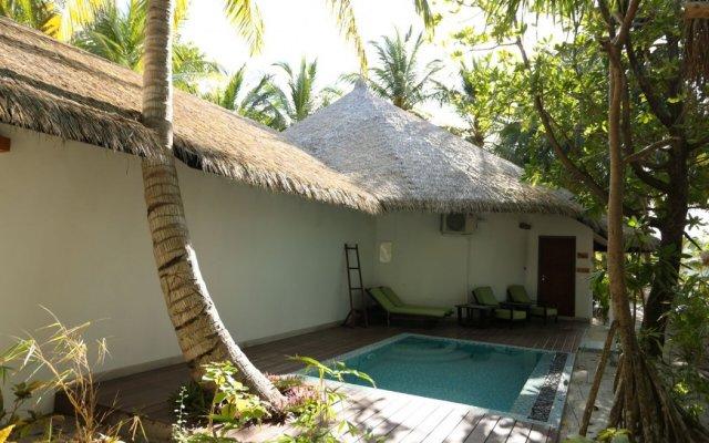 Отель Kihaa Maldives Island Resort вид на фасад