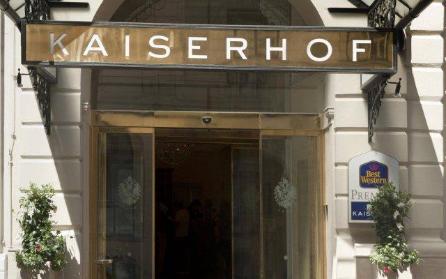 Hotel Kaiserhof Wien вид на фасад