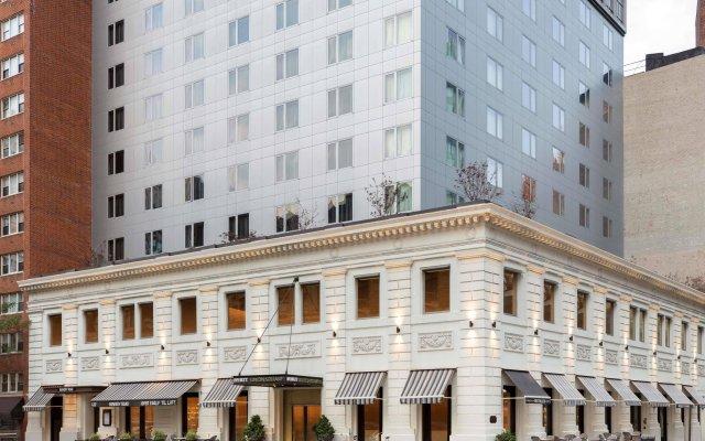 Отель Hyatt Union Square New York США, Нью-Йорк - 1 отзыв об отеле, цены и фото номеров - забронировать отель Hyatt Union Square New York онлайн вид на фасад