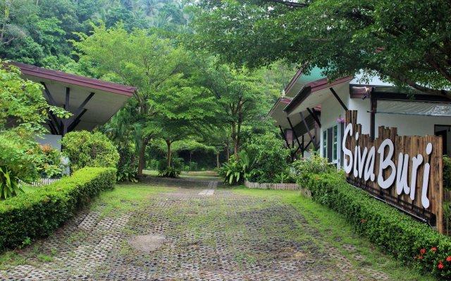 Отель Siva Buri Resort вид на фасад
