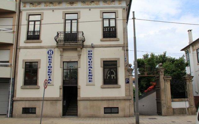 Отель Portucalense вид на фасад