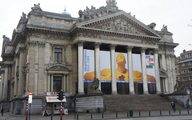 Отель Bourse 3 Бельгия, Брюссель - отзывы, цены и фото номеров - забронировать отель Bourse 3 онлайн вид на фасад