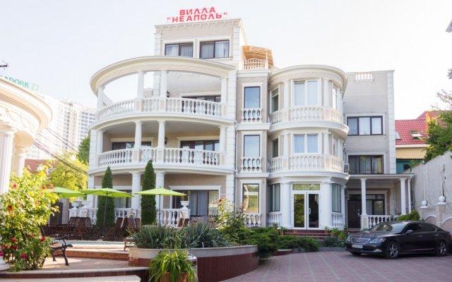 Гостиница Villa Neapol Украина, Одесса - 1 отзыв об отеле, цены и фото номеров - забронировать гостиницу Villa Neapol онлайн вид на фасад
