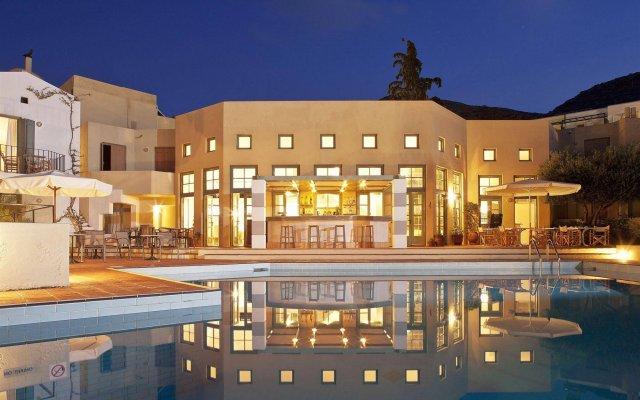 Отель Galaxy Villas вид на фасад