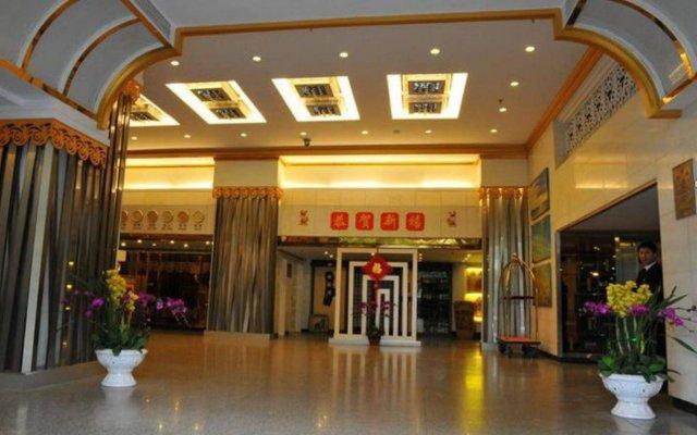 Guangzhou Zhuhai Special Economic Zone Hotel вид на фасад