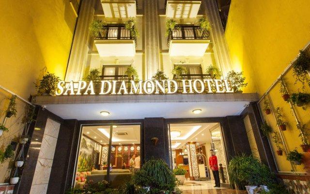 Sapa Diamond Hotel вид на фасад