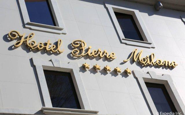 Hotel Pierre Milano вид на фасад