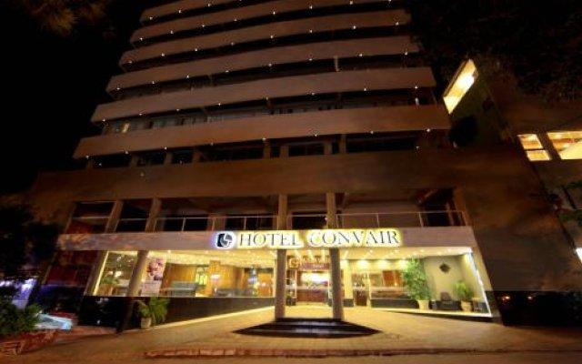 Отель Convair Hotel Парагвай, Сьюдад-дель-Эсте - отзывы, цены и фото номеров - забронировать отель Convair Hotel онлайн вид на фасад