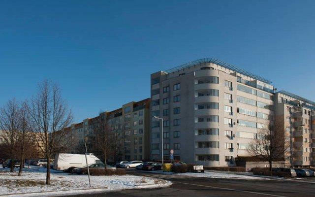 Апартаменты Every Day Apartment Prague 5 вид на фасад