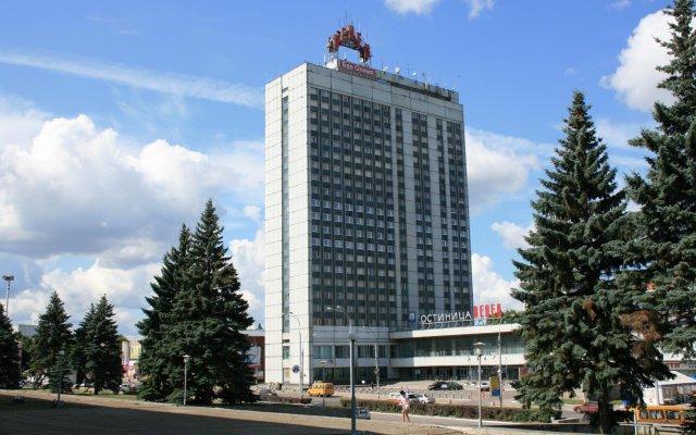 Гостиница Венец Ульяновск вид на фасад