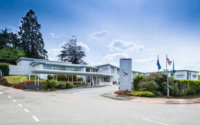 The Devon Hotel вид на фасад