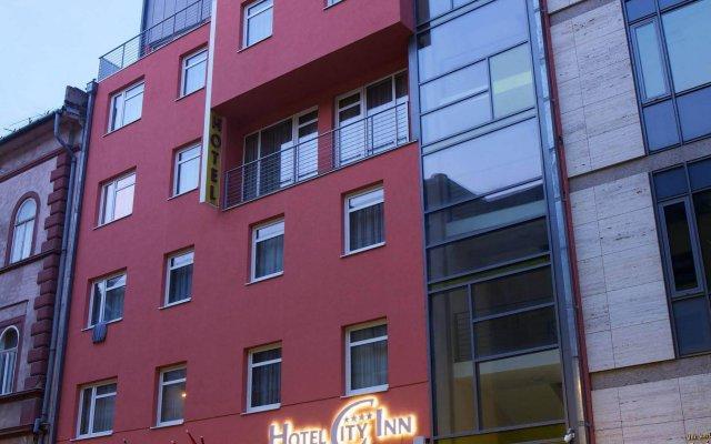 Hotel City Inn Будапешт вид на фасад