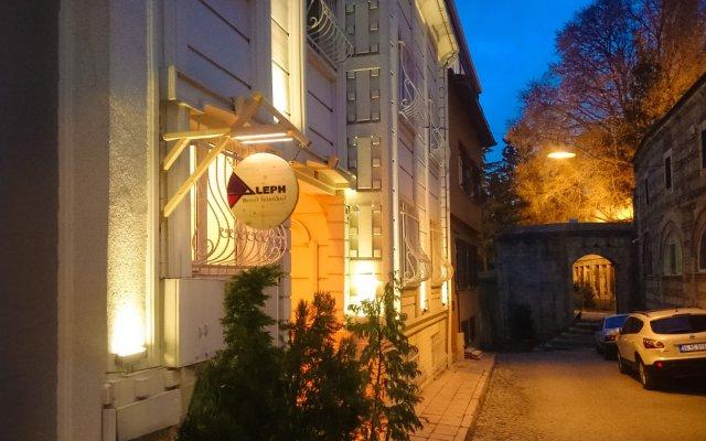 Отель Aleph Istanbul вид на фасад