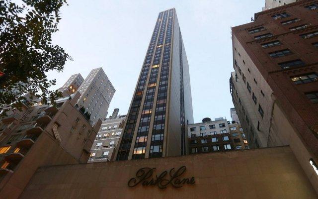 Отель Park Lane Hotel США, Нью-Йорк - 1 отзыв об отеле, цены и фото номеров - забронировать отель Park Lane Hotel онлайн вид на фасад