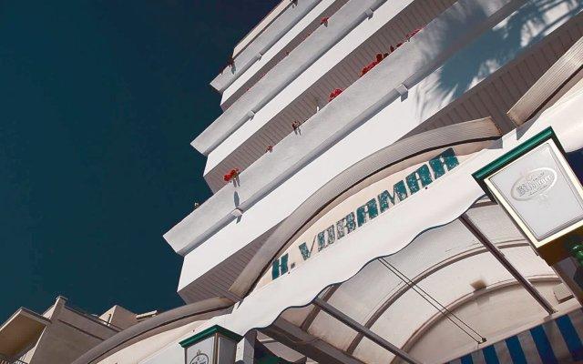 Отель Voramar вид на фасад