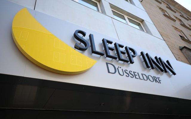 Отель Sleep Inn Düsseldorf Германия, Дюссельдорф - отзывы, цены и фото номеров - забронировать отель Sleep Inn Düsseldorf онлайн вид на фасад