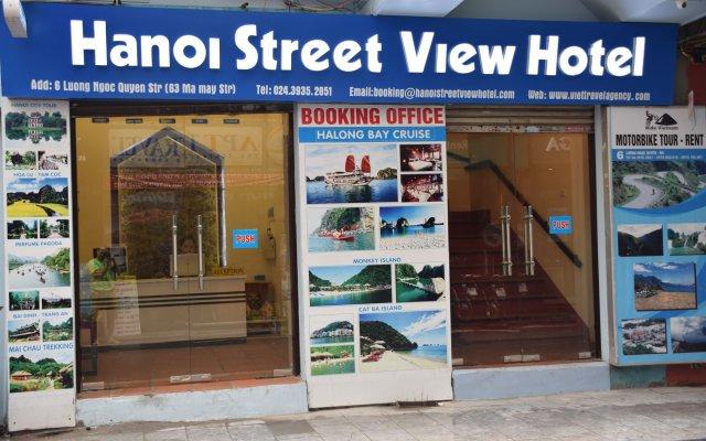 Отель Hanoi Street View Hotel Вьетнам, Ханой - отзывы, цены и фото номеров - забронировать отель Hanoi Street View Hotel онлайн вид на фасад
