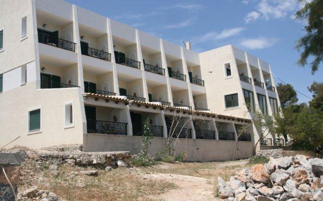 Отель Dionysos Hotel Греция, Агистри - отзывы, цены и фото номеров - забронировать отель Dionysos Hotel онлайн вид на фасад