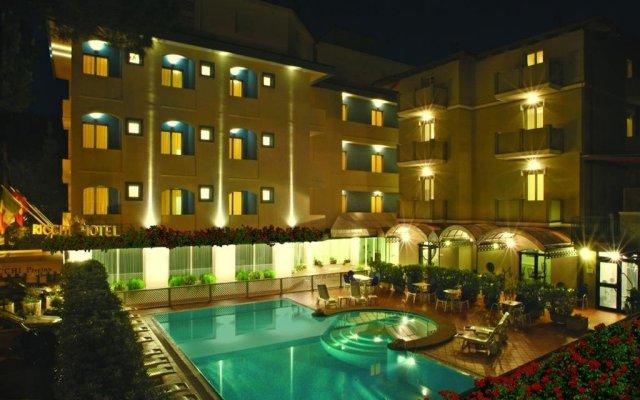 Hotel Ricchi вид на фасад