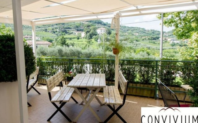 Отель Belvedere Resort Ai Colli Италия, Региональный парк Colli Euganei - отзывы, цены и фото номеров - забронировать отель Belvedere Resort Ai Colli онлайн вид на фасад