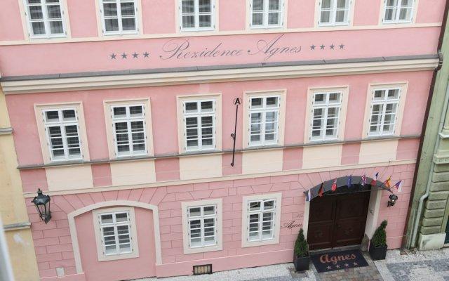 Hotel Residence Agnes вид на фасад