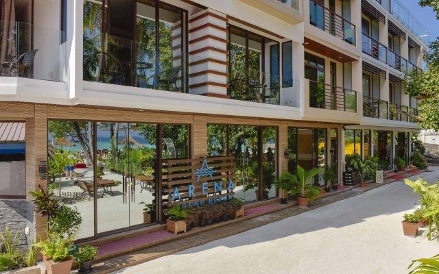 Arena Beach Hotel вид на фасад
