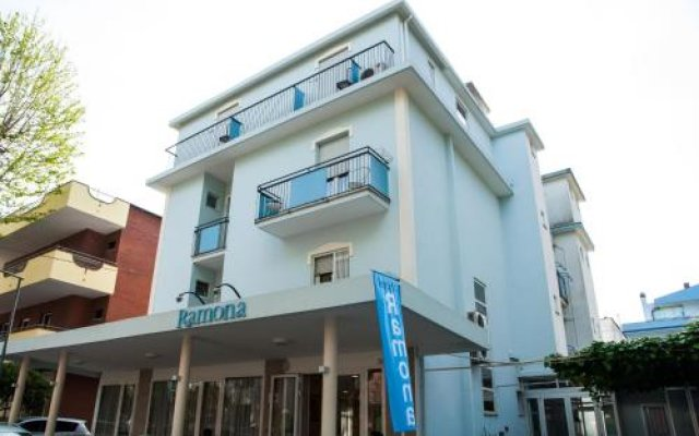 Отель Ramona Италия, Римини - отзывы, цены и фото номеров - забронировать отель Ramona онлайн вид на фасад