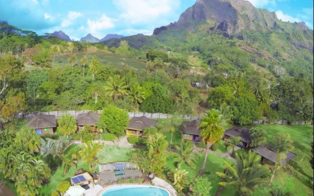 Отель Village Temanoha Французская Полинезия, Папеэте - отзывы, цены и фото номеров - забронировать отель Village Temanoha онлайн балкон