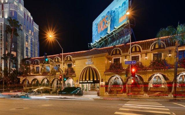 Отель Best Western PLUS Sunset Plaza США, Уэст-Голливуд - отзывы, цены и фото номеров - забронировать отель Best Western PLUS Sunset Plaza онлайн вид на фасад