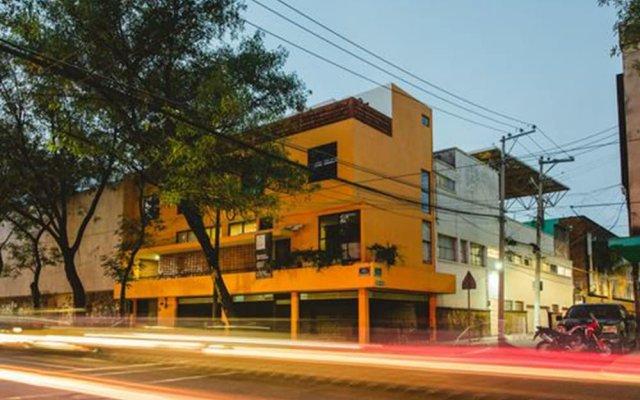 Hostal Hidalgo - Hostel вид на фасад