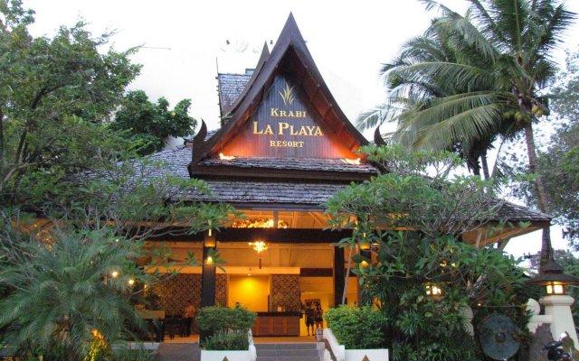 Отель Krabi La Playa Resort вид на фасад