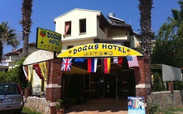 Dogus Hotel вид на фасад