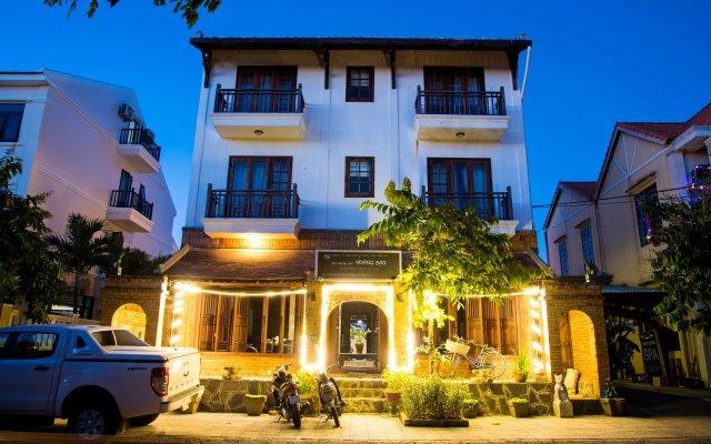 Отель Hoang Dao Villa вид на фасад