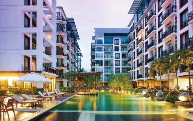Отель Amanta Hotel & Residence Ratchada Таиланд, Бангкок - отзывы, цены и фото номеров - забронировать отель Amanta Hotel & Residence Ratchada онлайн вид на фасад