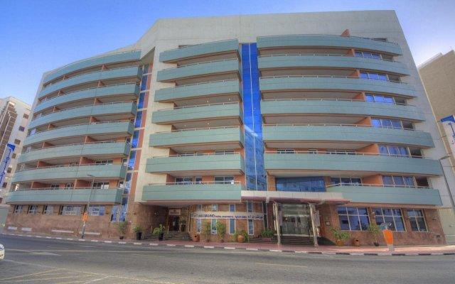 Fortune Grand Hotel Apartments вид на фасад