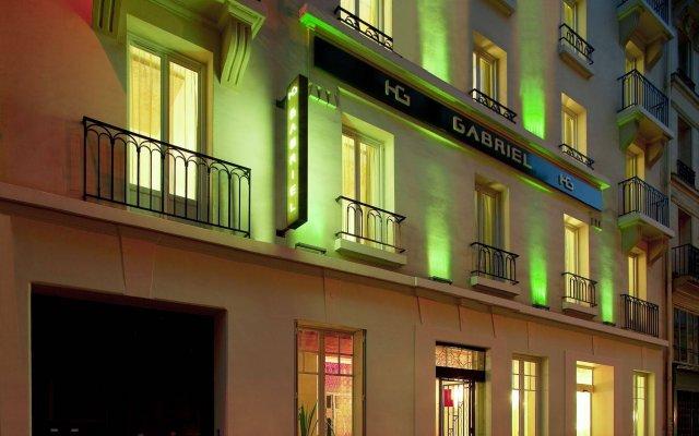 Hotel Gabriel Paris вид на фасад
