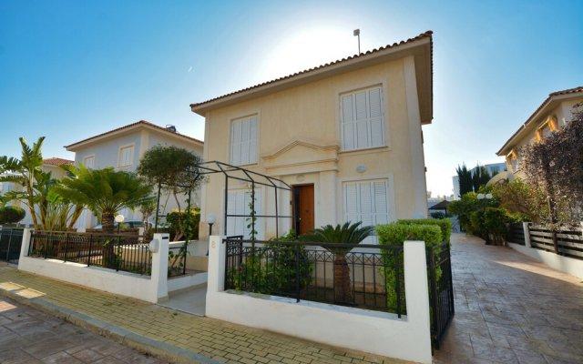 Отель Jason 8 Villa Кипр, Протарас - отзывы, цены и фото номеров - забронировать отель Jason 8 Villa онлайн вид на фасад