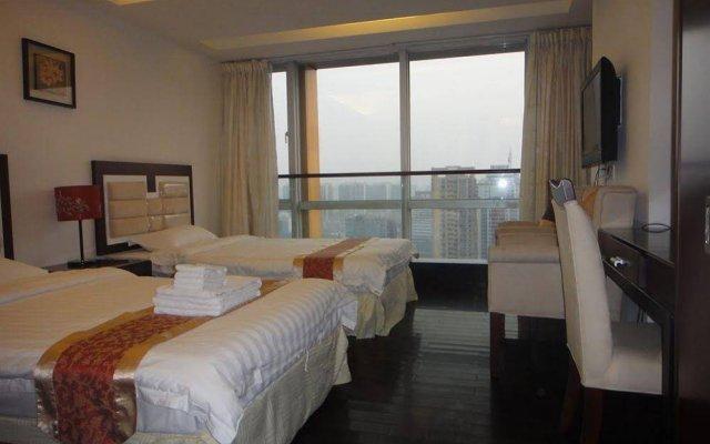 Апартаменты Private Enjoyed Home JinYuan Apartment комната для гостей