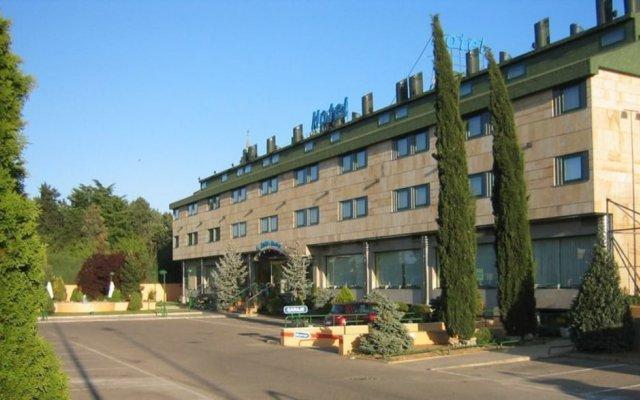 Отель Sercotel Horus Salamanca вид на фасад