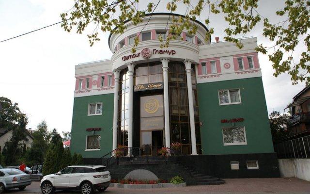 Отель Гламур Калининград вид на фасад