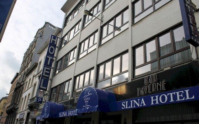 Slina Hotel Brussels вид на фасад