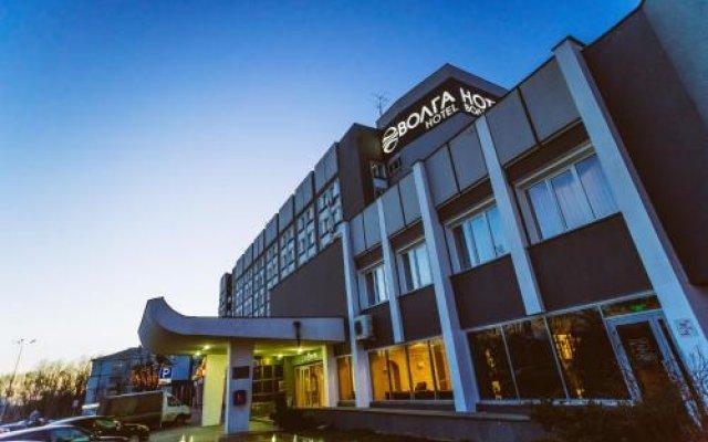 Гостиница Волга в Твери 1 отзыв об отеле, цены и фото номеров - забронировать гостиницу Волга онлайн Тверь вид на фасад