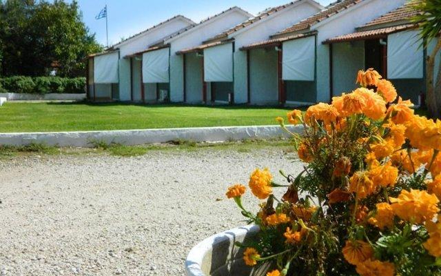 Отель Corfu Dream Village вид на фасад