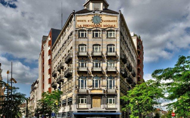 Hotel Aviation вид на фасад